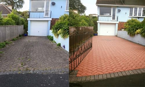 driveway cleaning Hornchurch